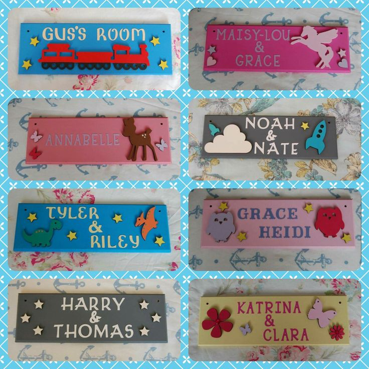 Shared Bedroom Personalised Children's Door Name plaque Name Sign . Any Names Any colours. Room sharing Brothers Room Sisters Room Share. by FairylandDecor on Etsy