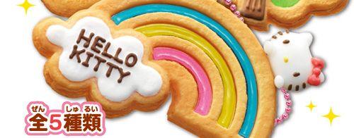 HELLO KITTY「キラキラ 透明クッキーマスコット」
