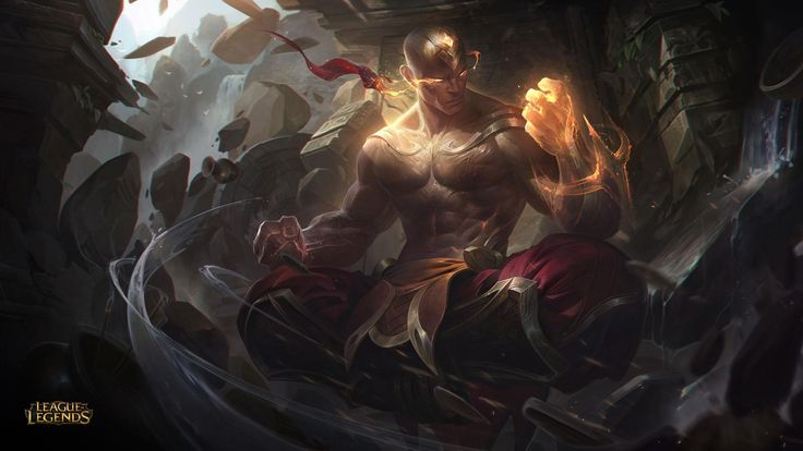 Lee Sin Punhos Divinos | League of Legends