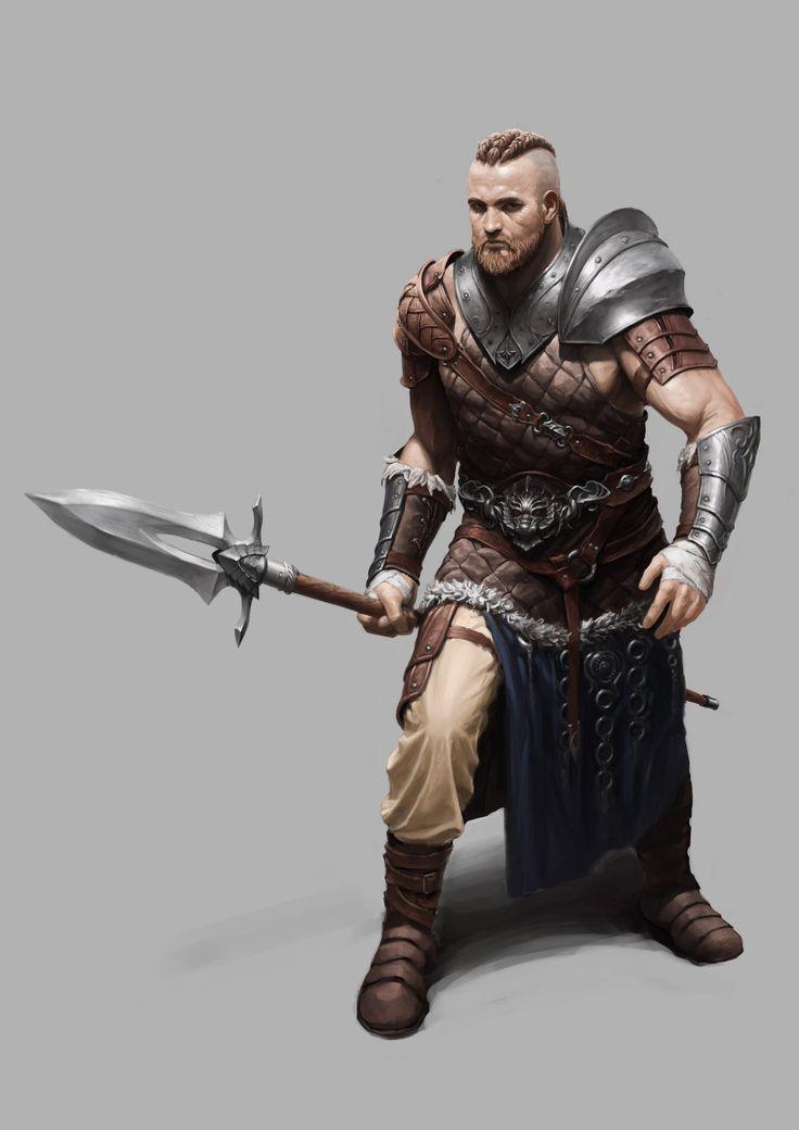 Fantasy warrior men - photo#42