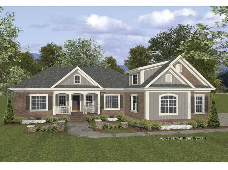 Eplans cottage house plan well planned country home for Eplans cottage house plan