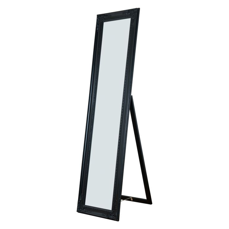 Milton Green Stars Cecilia Full Length Mirror - 15.75W x 63H in. - 7057-BLACK