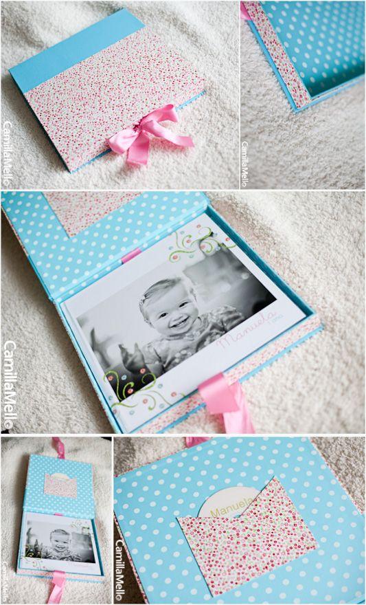 Caixa/estojo para fotolivro, feito para a fotógrafa Camilla Mello (www.camillamello.com.br)