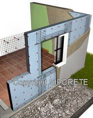 Insulated concrete dream home pinterest concrete for Icf house cost