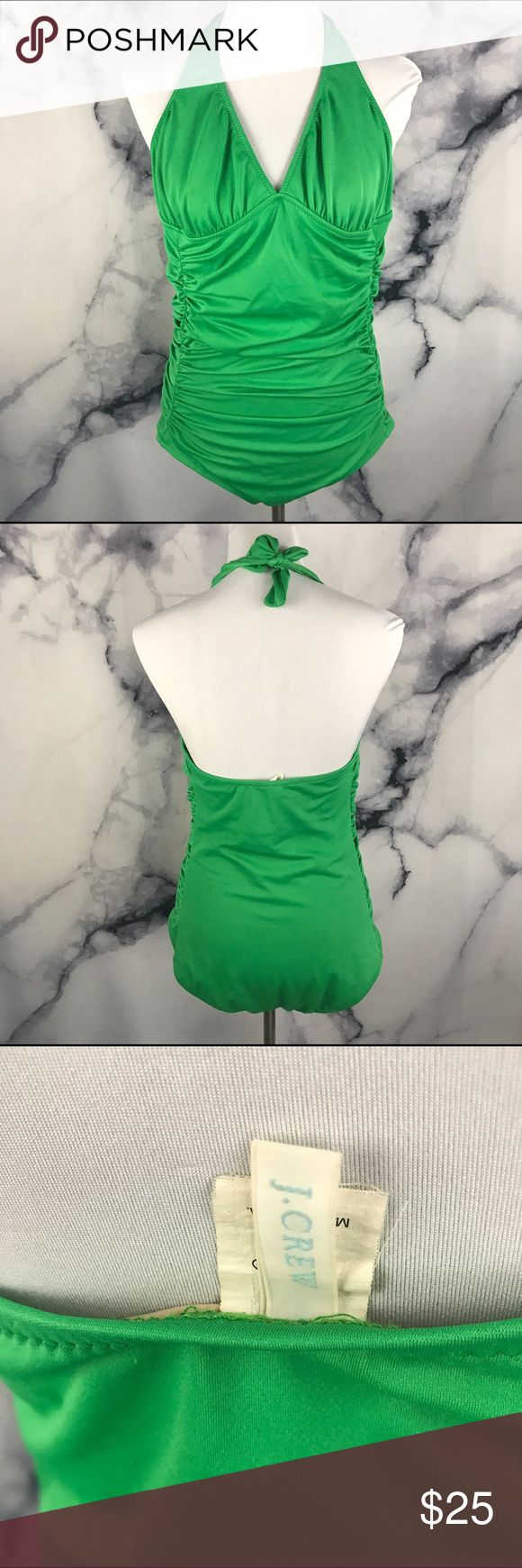 J crew emerald Green Ruched Modest Swimsuit 14 Excellent used condition. True to size! 🖤THANK YOU for supporting the dream of business ownership of 2 BFFs! 🖤DON'T PASS THIS UP! Make us an offer! 🖤We ship daily M-Sat, so youll get it on time! 🖤no price discussion in comments please🖤 use offer button 🖤reasonable offers accepted 🖤low offers countered🖤offers below 50% of asking price are auto declined🖤 J. Crew Swim One Pieces