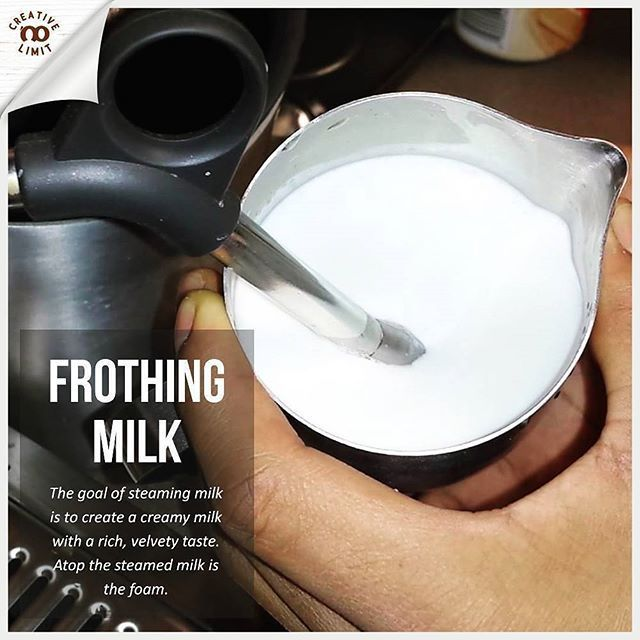 The Process Of Steaming And Frothing Milk Involves Heating