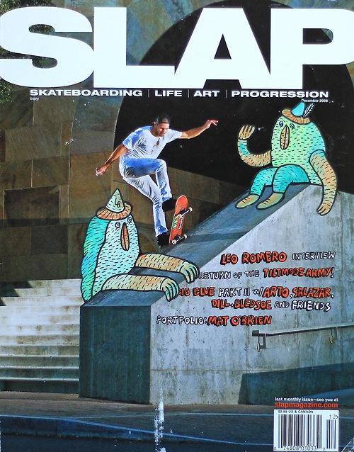 """Heath Kirchart SLAP """"ReCover"""" by skater/filmmaker/artist Lucas Beaufort. #magazine #cover #illustration"""