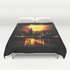 Night City Duvet Cover