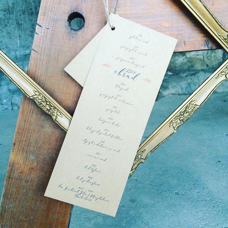 Harmonogram #svatbadesign #graphicdesign #harmonogram #svatba #design #svatebni #tiskoviny #vyzdoba #svatebnidesign #weddingdecoration #timeline #weddingdesign #wedding #nature