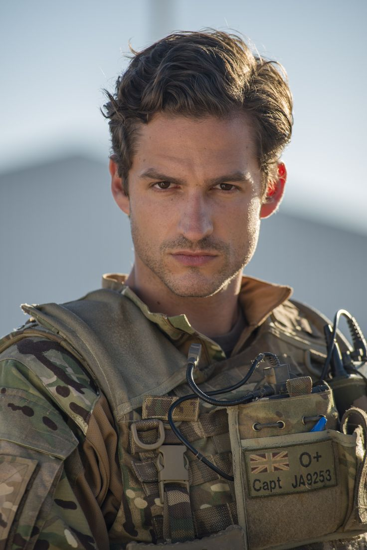 Seb when he was in the French Foreign Legion.. Zel's brother, the hero of Lucy King's book Taming the Beast!
