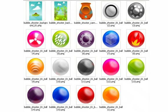 Bubble shooter pack