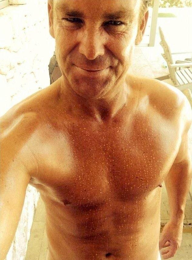 Shane Warne selfie