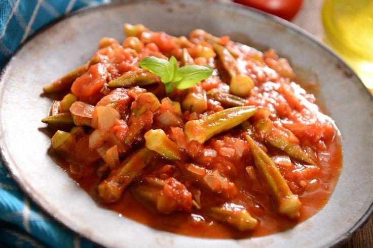 Receta: Guiso de quimbombó con pollo