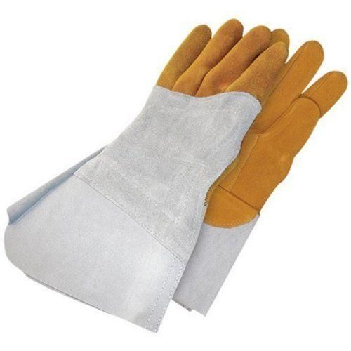 Bob Dale 64-1-1525-10 Premium Reverse Grain Deerskin Welder Glove with Left H...