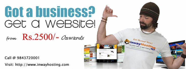 Create your website design for Rs.2500 at Inway Hosting.Contact 09843720001