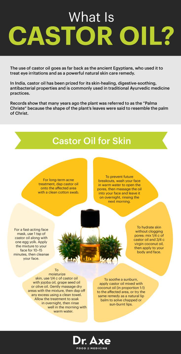 Castor Oil Speeds Up Healing & Improves Your Immunity - Dr. Axe