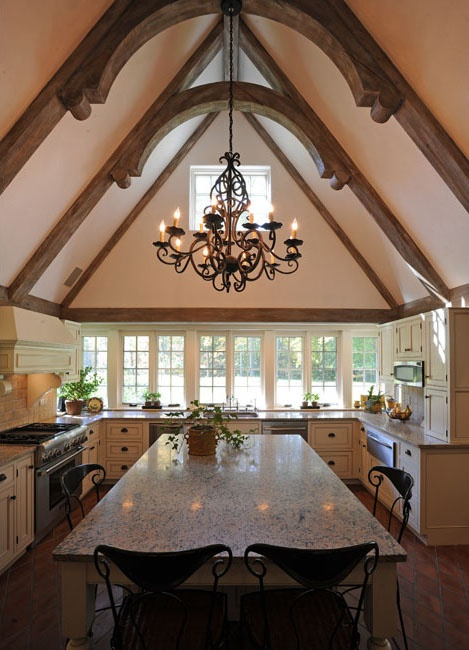 31 curated trusses ideas by roseottinterior high for Vaulted ceiling trusses