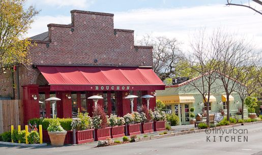 Bouchon bistro and bakery, Yountville, Napa Valley