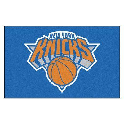 FANMATS NBA - New York Knicks Doormat Rug Size: 5' x 8'
