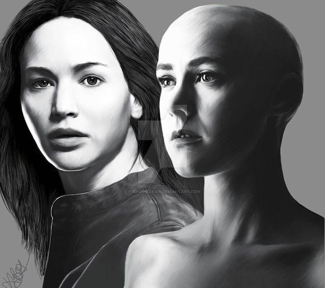 Johanna e Katniss