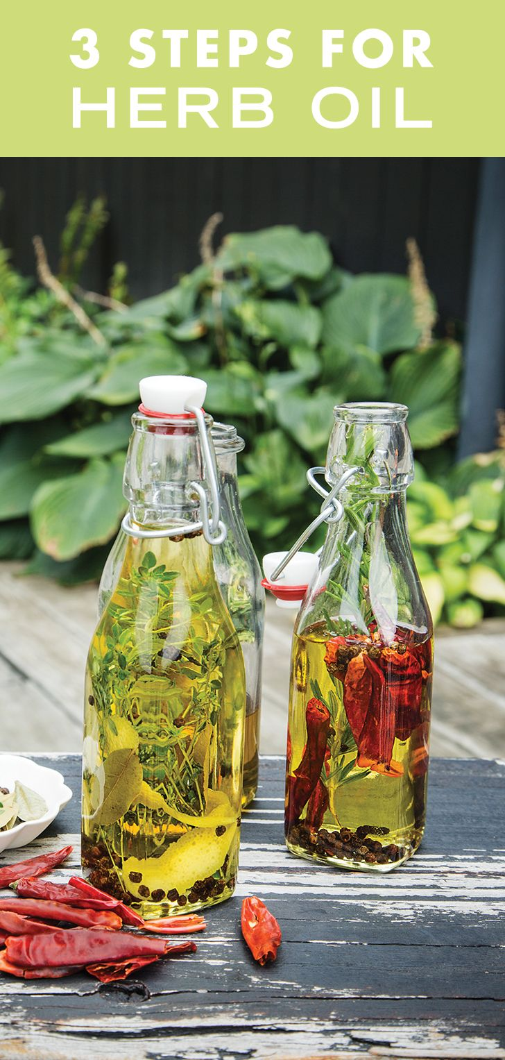 Give your favorite olive oil an herbaceous upgrade with this recipe from Sweet Paul + Mrs. Meyer's Magazine. Use it in dressings, over soups, on pizza or whatever else your heart desires. Not to mention, this pretty bottle adds a little something extra to any table or picnic blanket. Talk about multi-tasking! Click through to get the tasty recipe.