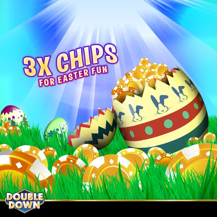 (EXPIRED) It's an Easter treat! Get triple the chips in every package today. Collect 150,000 FREE chips and buy now when you tap the Pinned Link (or use code XTBMQH)