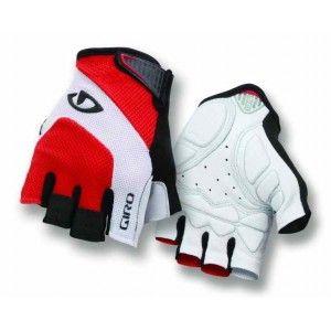 Giro Monaco Cycling Gloves Red/White