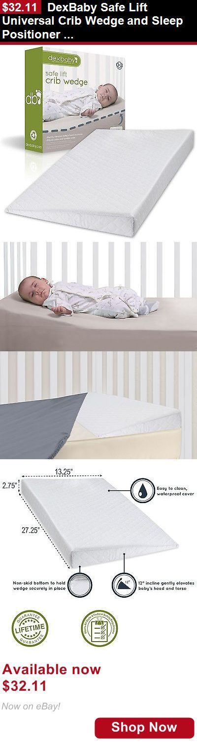 Baby Safety Sleep Positioners: Dexbaby Safe Lift Universal Crib Wedge And Sleep Positioner For Baby Mattress BUY IT NOW ONLY: $32.11
