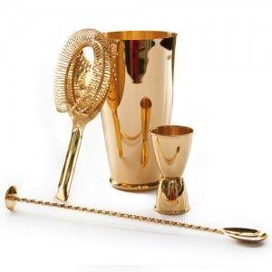 APS cocktailset goud - polished - 24K Nu verkrijgbaar bij www.apssupply.nl