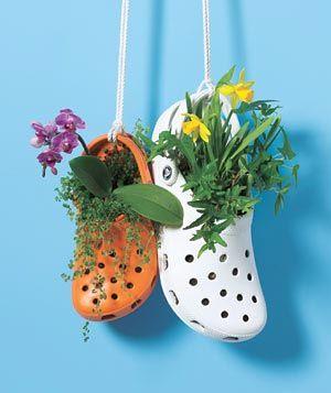 Transforme em vaso o que está sem uso, dicas de jardins e hortas   Vila do Artesão