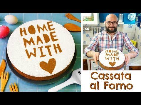 Cassata al Forno Siciliana   Ricetta Originale   55Winston55 ft. Due Cuori e Una Cappa - YouTube