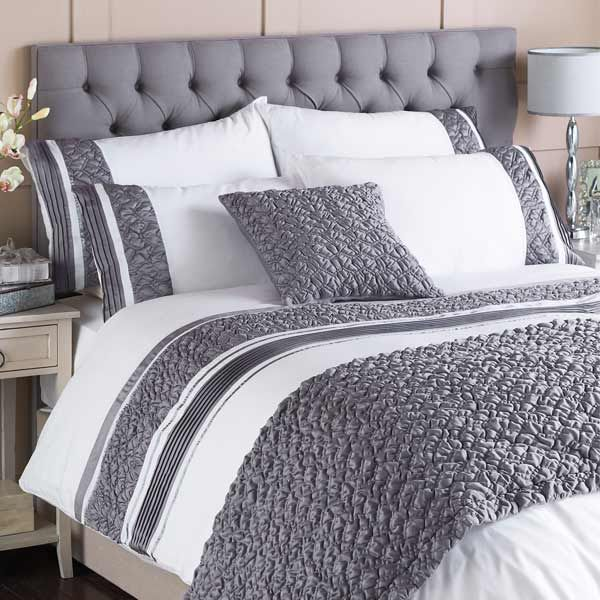Grey And White Duvet Cover