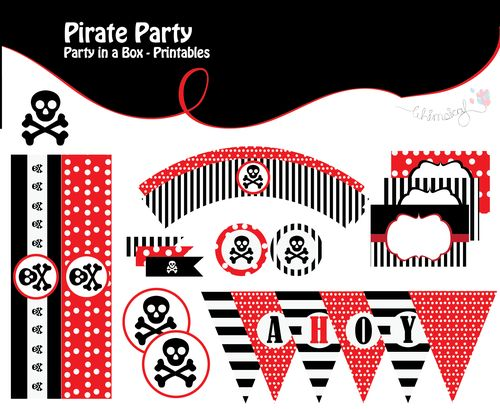 ONLINE STORE - ONLINE STORE - Pirate Printables -Party in a box-  http://awishawaywhimsical.blogspot.com/p/online-store_8.html#!/~/product/category=8462423&id=32857227