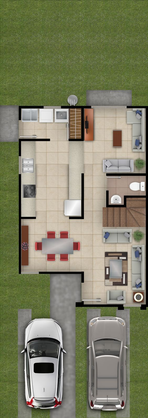 Más de 25 ideas increíbles sobre Planos de casas economicas en ...