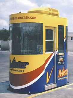 PK-458 Car Wash Booth