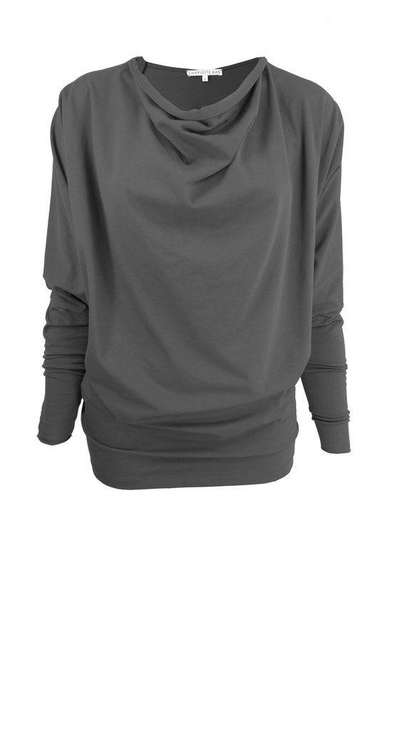 PDF Sewing Pattern Elskan Batwing Dress/Top for knits by Charlotte Kan – CHARLOTTE KAN