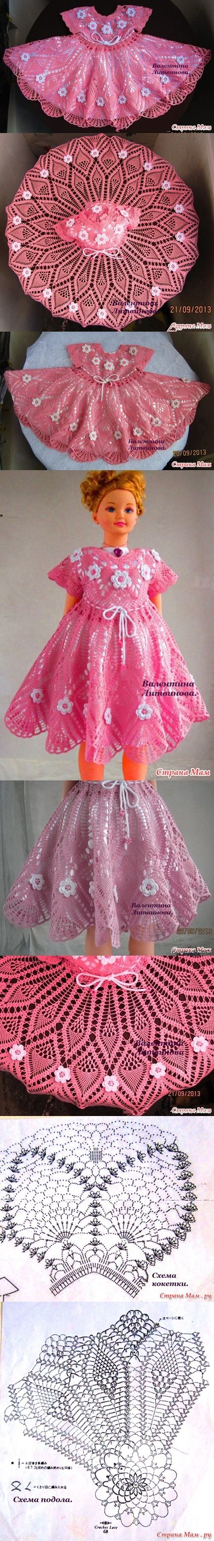 crochet princess dress pattern