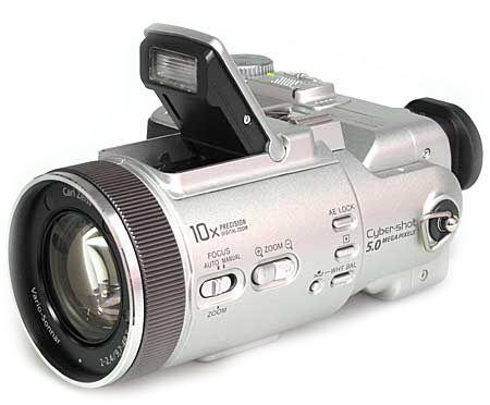 Sony  DSC F717