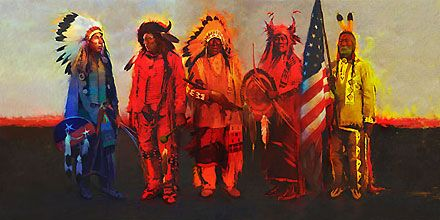 Men of Honor - R. Tom Gilleon - World-Wide-Art.com - $625.00