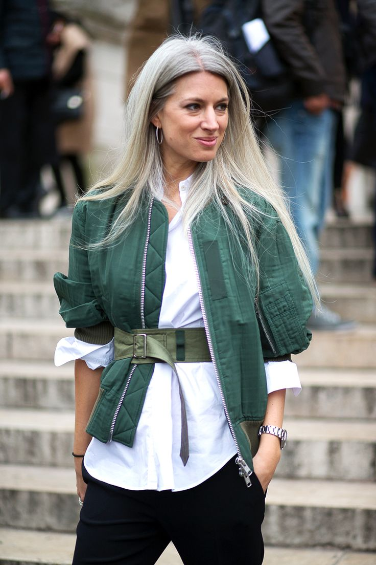 Sarah Harris best street style at paris fashion week via @diegozucc @BazaarUK @harpersbazaarus @styledotcom