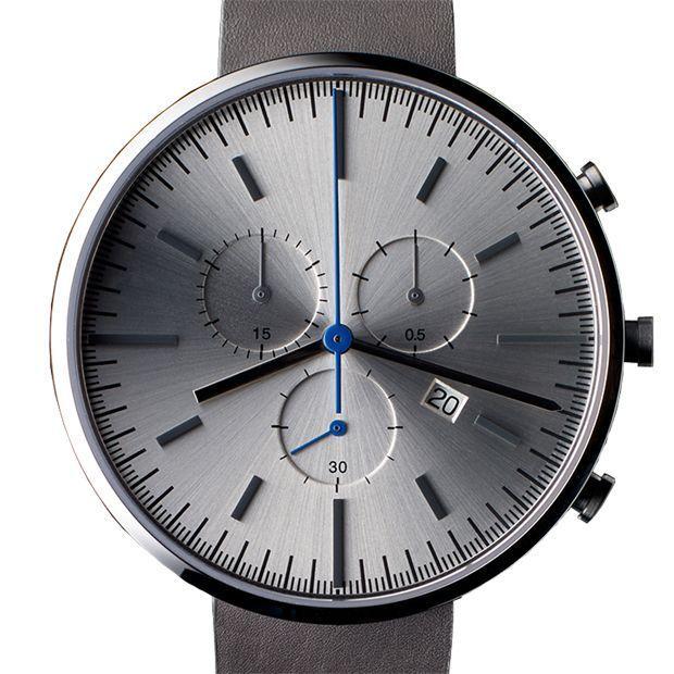 Uniform Wares 302 Se  Uniform Wares 302 Se  Uniform Wares 302 Series (brushed/grey) watch by Uniform Wares. Available at Dezeen Watch Store:  www.dezeenwatchst...