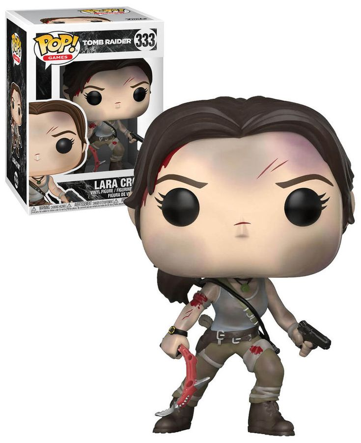 Funko POP! Games Tomb Raider #333 Lara Croft - New, Mint Condition. https://www.ebay.com.au/itm/332563776467 OR https://www.supportivepc.com #Funko #FunkoPop #TombRaider #Collectibles