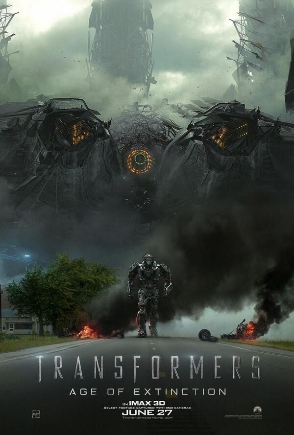 Lockdown Transformers 4: Age of Extinction IMAX poster, new release. HELL YES.