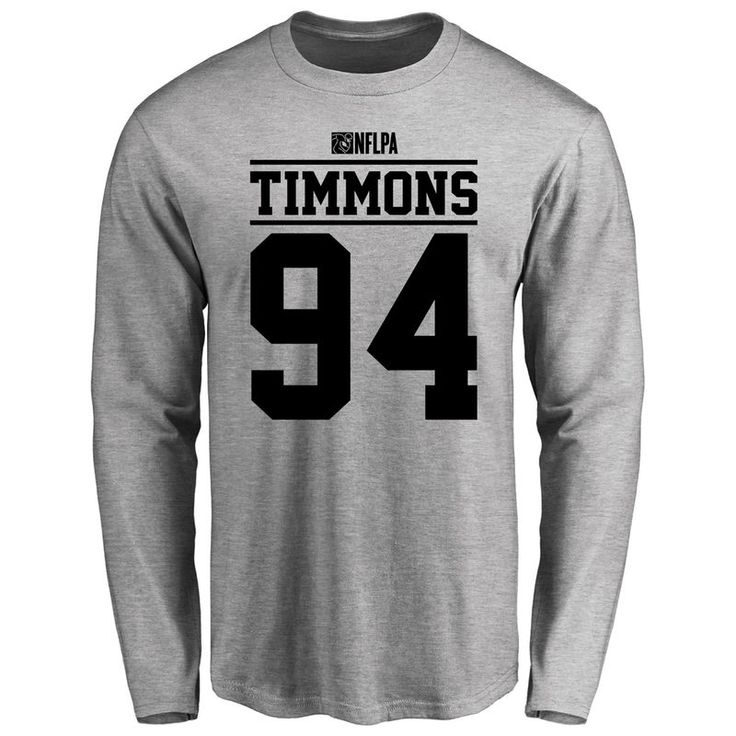Lawrence Timmons Player Issued Long Sleeve T-Shirt - Ash