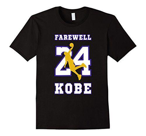 KOBE BRYANT T-SHIRT Farewell Retirement Los Angeles Lakers - http://weheartlakers.com/lakers-shirts/kobe-bryant-t-shirt-farewell-retirement-los-angeles-lakers