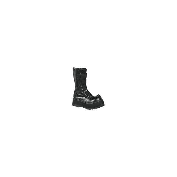 platform boots, gothic boots, punk boots at Rivithead ($62) ❤ liked on Polyvore featuring shoes, boots, punk rock boots, punk platform shoes, goth platform boots, punk shoes and platform shoes