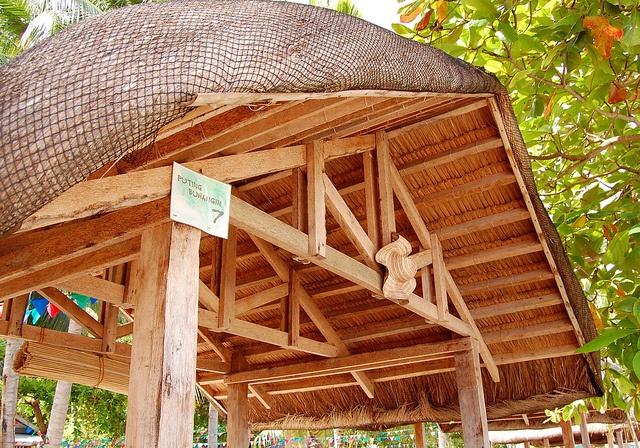 Pandan Island picnic hut