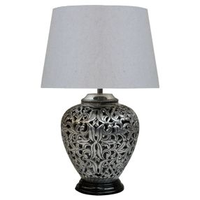 - Baroque Bedside Lamp and Shade