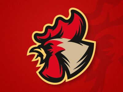 Rooster  by Roman #Design Popular #Dribbble #shots
