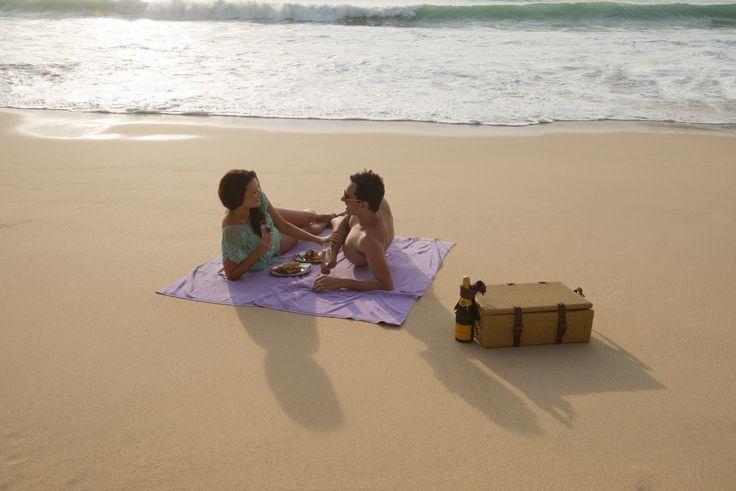 Kubu Beach Enjoy a picnic box from Warung Kubu to maximize your luxurious beach time.